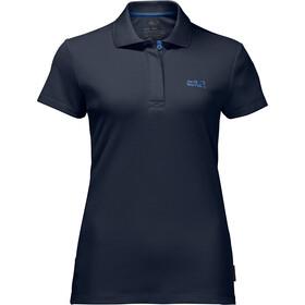 Jack Wolfskin Three Towers T-Shirt Damen midnight blue